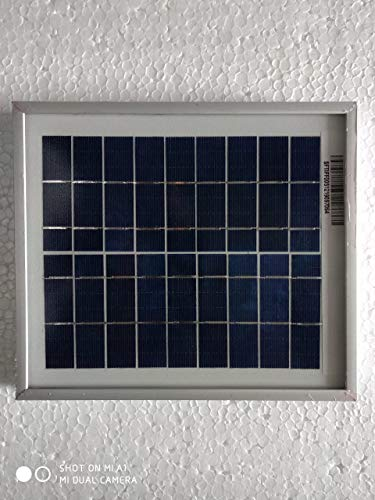 Andslite 5 Watt 6 Volt Solar Panel