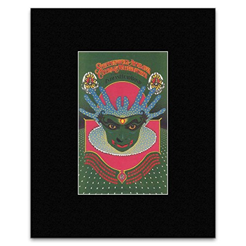 Stick It On Your Wall Mini-Poster, Motiv Steppenwolf - April 1971-26,2 x 16,4 cm