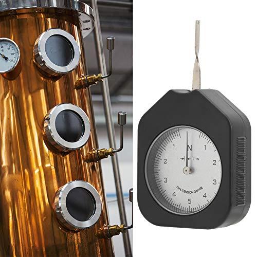 Medidor de tensión, probador de tensión 5N, pequeña aguja única profesional para pruebas precisas de tensión de presión para interruptor electrónico para presión mecánica