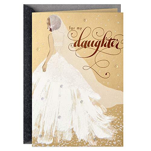 Hallmark Wedding Day Card for Daughter (Dream Come True)