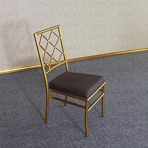 CZPF Metallhochzeits-Bambusstuhl Hotelstuhl Englischer Stuhl Neuer Klassischer Stuhl Schlossstuhl Napoleon-Stuhl Einfacher Moderner Stuhl