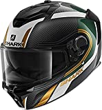 Shark Spartan Carbon GT Casco para Moto, Hombre, Multicolor, M