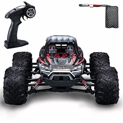 GoStock Ferngesteuertes Auto, 4WD RC Auto 36 km/h 1:16 Funkfernsteuerung Elektro Geländewagen 2,4 GHz RC Ferngesteuertes Offroad Monstertruck Buggy Auto Spielzeug Geschenk für Kinder / Erwachsene