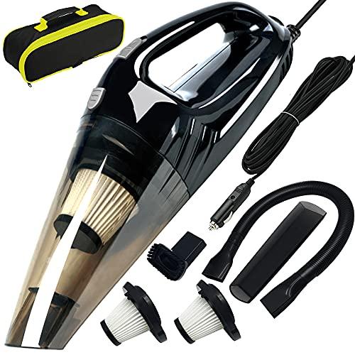 Car Vacuum, ANKO DC 12V 120W High Power Portable Handheld...