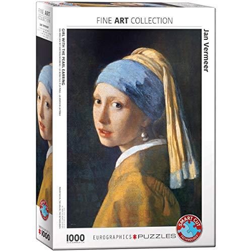 Eurographics 1000 Teile - Das Mädchen m.d.Perlenohrring