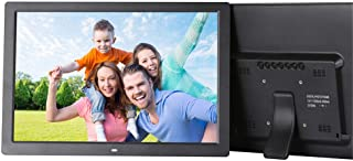 Digital Picture Frame 17 inch Electronic Photo Frame (1440X900) High Resolution with Remote Control, Auto-Rotate/Calendar/...