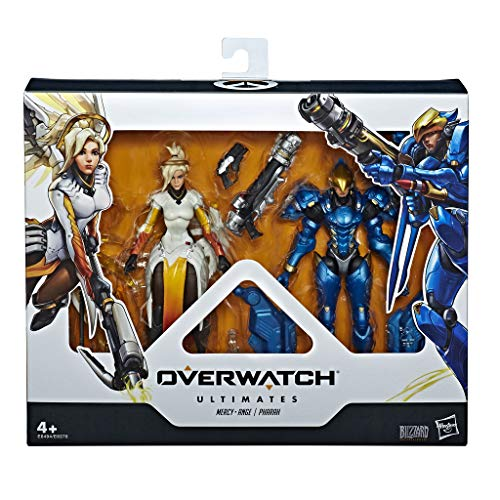 Overwatch- Mercy y Phara  (Hasbro E6494ES0)