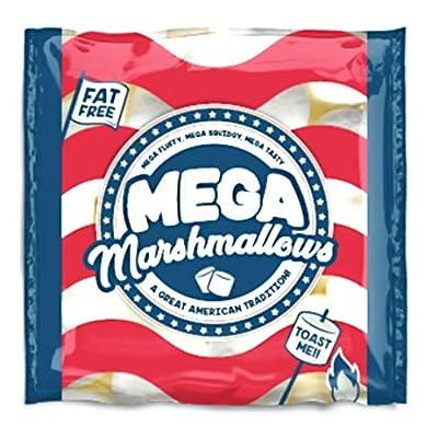 mega marshmallows - american - 300 grams - extra large Mega Marshmallows – American – 300 Grams – Extra Large 51DsdXLc4oL