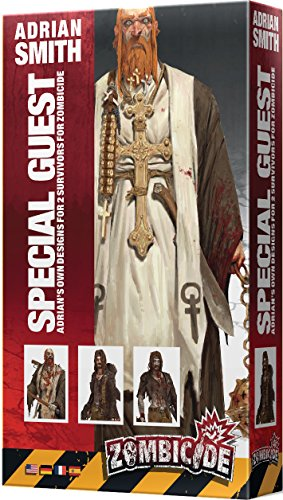 Cool Mini or Not 901569 - Zombicide - Special Guest - Adrien Smith, Brettspiele