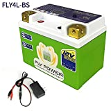 FLYPOWER LiFePO4 Motorcycle Engine Battery FLY4L-BS 12V 160A with BMS Smart Battery 12V Lithium Iron Phosphate Scooter Batteries