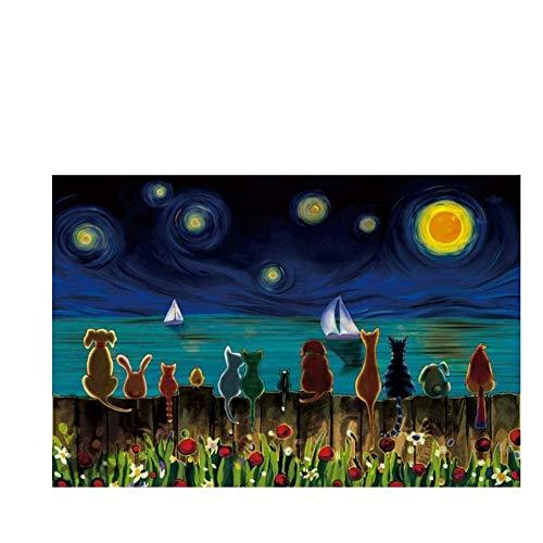 Zegening Van De Kalme Zee, Houten Puzzels Voor Volwassenen, 500/1000/1500/2000 Stukken Voor Vriendinnen, Cadeau Speelgoed, Decoratie Voor Het Huis Van De Decompressie Anime Comic