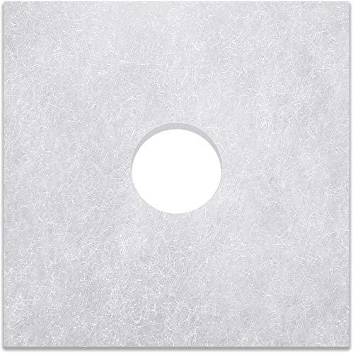 10 Filter für Helios ELF/ELSN ELS Badlüfter - 160 x 160 mm, Ø 42 mm, Filterklasse G2, 9 mm - Alle Typen ELF ELSN 00939 Lüftungsanlage - Luftfilter und Staubfilter für Bad und Gäste-WC Lüftung