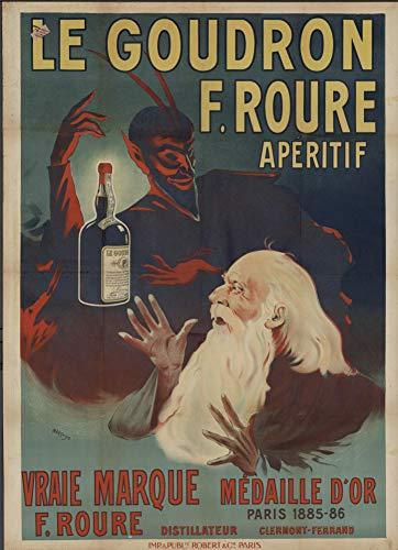 Clermont Ferrand 1885 - Póster reproductivo (50 x 70 cm, papel de lujo, 300 g), venta del archivo digital HD posible, consulta (tienda: cartel vintage.FR)