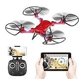 GoolRC RC Quadricottero Drone con Camera T32 WiFi FPV 2.4Ghz 4CH RC Quadricottero Pieghevole Drone...