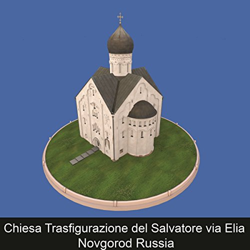 Chiesa Trasfigurazione del Salvatore via Elia Velikiy Novgorod Russia copertina