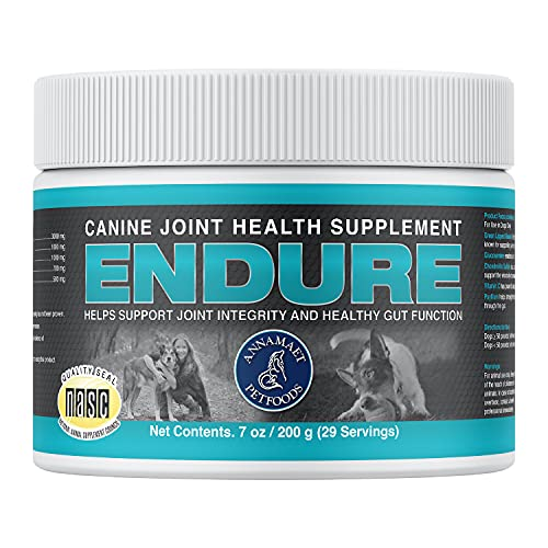 Top 10 best selling list for annamaet endure supplement for dogs