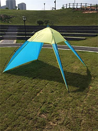 Qazxsw The Beach Oceanfront Carpa Carpas Triangulares de Ocio Carpa con sombrilla 5-8 Personas Que Publican Pesca