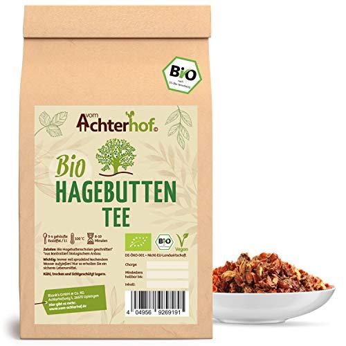 Hagebuttentee Bio lose | 500g | Hagebuttenschalen geschnitten | Hagebutten Tee vom-Achterhof