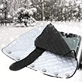 Car Windshield Snow Cover Ice Frost Removal Magnetic Windscreen Cover Wiper...