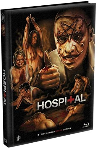 Hospital - Mediabook - Cover A - Limited Edition - Uncut  (+ DVD) [Blu-ray]