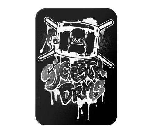 MusicSkins Design-Schutzfolie für Western Digital WD Elements Portable/Elements Portable SE, Motiv SJC Drums - Graff