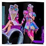Beautiful Wome Pink Jojo Siwa Love Girls Cute Póster de impresión de arte de pared para decoración del hogar !