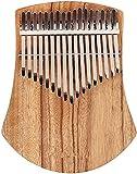 ZTJ Thumb Piano Piano Portátil Kalimba Portátil Carimba Piano 17-Key Dedo Piano Africano Camphor Cuerpo Thumb Piano Instrumento para Niños Adultos Principiantes/Wood/17Cas