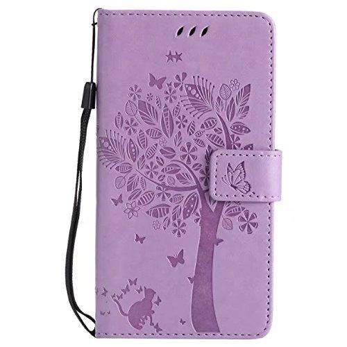 HUANGTAOLI Custodia in Pelle Portafoglio Flip Case Cover per LG G4 Stylus H635 Smartphone,Display 5.7 Pollici
