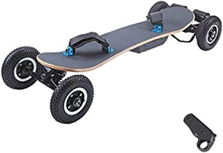 MYTDBD Electric Extreme Sports Skateboard Intelligent Remote Control Double Drive Four-Wheel Long Board Outdoor Cross-Country Cruise Scooter