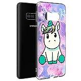 Pnakqil Coque Samsung Galaxy S5, Etui en Silicone 3D Transparente avec Motif Dessin Antichoc TPU Housse de Protection Case Cover Bumper Coque pour Téléphone Samsung S5,-Jolie Licorne