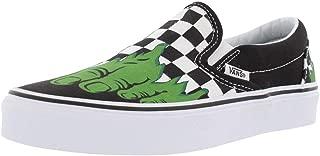 Vans Classic Slip-On (Marvel) Hulk/Checkerboard VN0A38F7U44 Mens 6.5, Womens 8