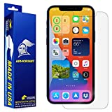 ArmorSuit MilitaryShield Screen Protector Designed Compatible with iPhone 12 Pro (6.1') 5g Max Coverage Anti-Bubble HD Clear Film