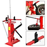 Roadstar 4' to 16-1/2' Multifunctional Manual Tire Changer Fit for Motorcycle Go Cart Trailer Bike ATV Truck Wheel