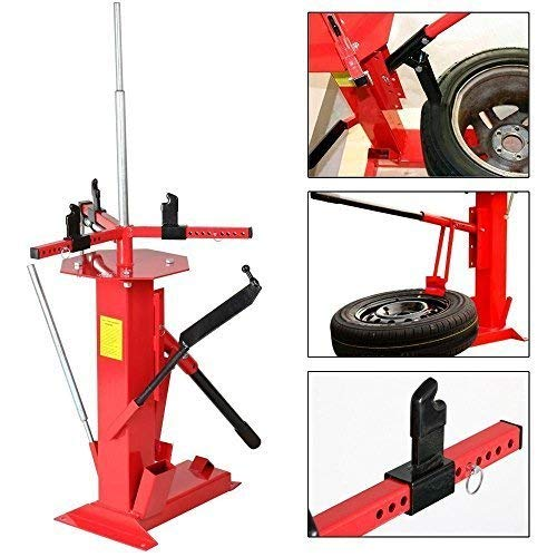 "Roadstar 4"" to 16-1/2"" Multifunctional Manual Tire Changer Fit for Motorcycle Go Cart Trailer Bike ATV Truck Wheel"