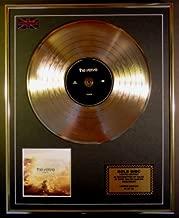 EC THE VERVE/LIMITED EDITION/CD GOLD DISC/RECORD/COA/ALBUM/FORTH