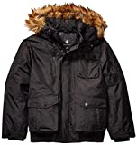 Rocawear Men's Big and Tall Outerwear Jacket, Bomber Black, 4X