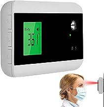 ZJM Termómetro Infrarrojo, 2 En 1 Pantalla Digital Alarma Automática Timbre De Puerta Instrumento De Medición De Temperatura Sin Contacto, Prueba Rápida 0.5S con Alarma De Fiebre para Oficina En Casa