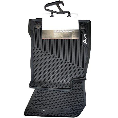 Audi 8W1061501041 Allwetterfußmatten vorne schwarz A4 2 Stück