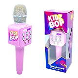 Move2Play Kidz Bop Karaoke Microphone Gift, The #1 Music Brand for Kids, Toy for 4, 5, 6, 7, 8, 9, 10 Year Old Girls and Boys