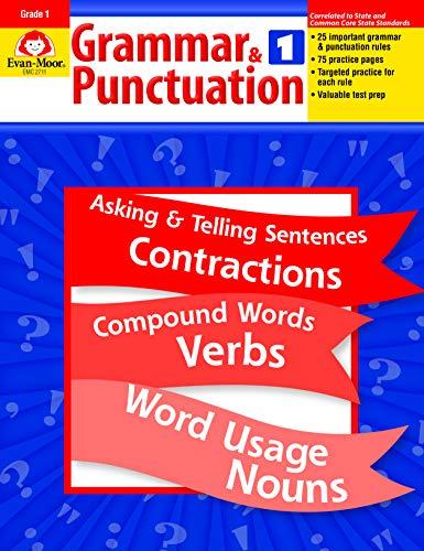 Compare Textbook Prices for Grammar and Punctuation, Grade 1  ISBN 9781557998453 by Evan Moor,Evan-Moor