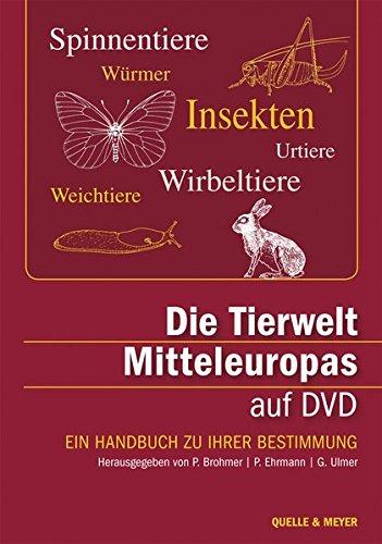 Die Tierwelt Mitteleuropas auf DVD: Ein Handbuch zu ihrer Bestimmung