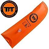 TFT Rutenschutzkappe 30x11cm aufblasbar - Rutenschützer für Angelruten, Rutenschoner für...
