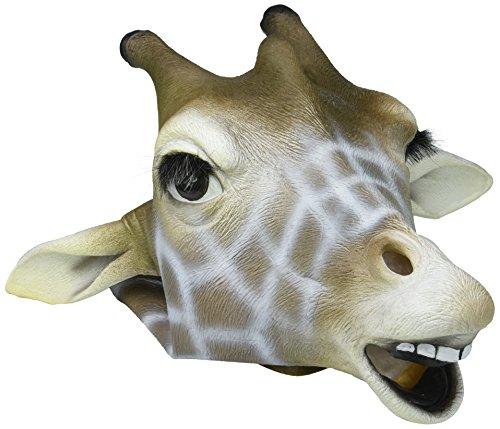 Forum Giraffenmaske: Deluxe Latex Tiermaske