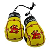 Scotland Lion Rampant Country Flag Mini Boxing Gloves to Hang Over Your Automobile Mirror New