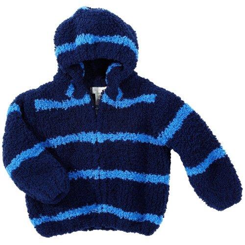 Angel Dear Baby Boys' Fleece Zip Hoodie - Navy - 18 Months