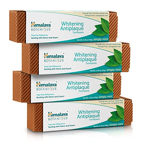 Himalaya Botanique Complete Care Whitening Toothpaste, Simply Mint,...