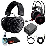 Beyerdynamic DT 1990 Pro Open Studio Reference Headphones 250 Ohm Bundle with ATH-AG1x Closed Back Gaming Headset