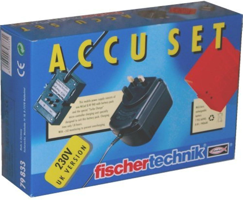 Fischertechnik Plus 230V Accu Set  (UK Version)