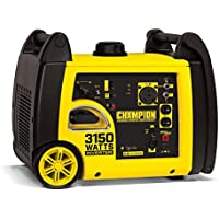 Champion Power Equipment 3150-Watt Gasoline Powered Recoil Start Inverter Generator with Champion 171 cc 4-Stroke Engine