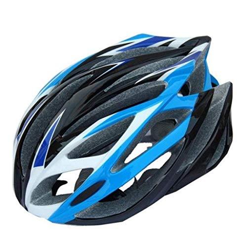 GYQD Casco Casco da Bicicletta Integrato,56-63Cm Cinturino Regolabile E Quadrante Regolabile Casco da Bicicletta per Road/Mountain/BMX Uomo Donna Gioventù